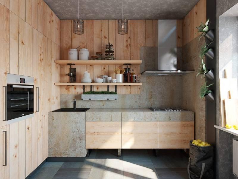 Variantes d'utilisation d'éléments en bois à l'intérieur