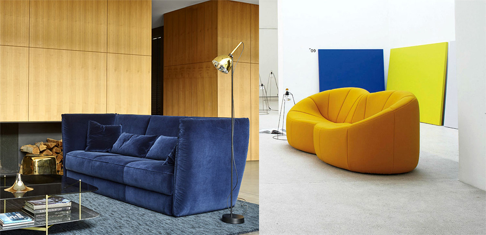 Accents lumineux sur les meubles