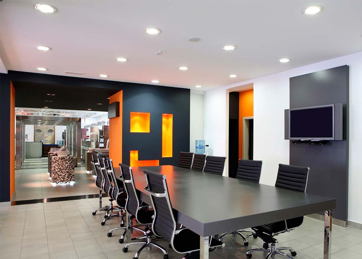 Accents intérieurs orange vif