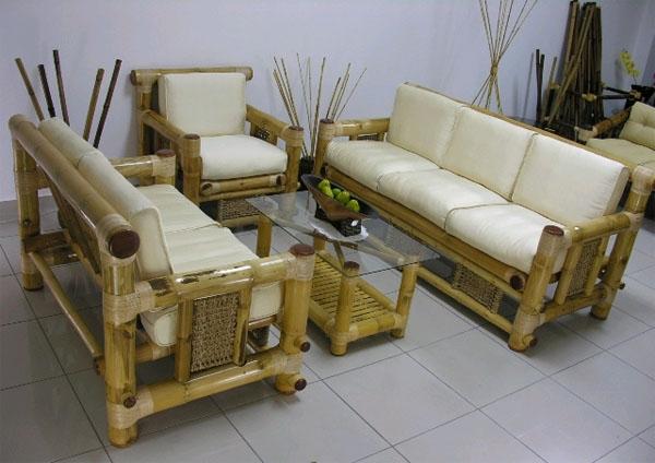 Meubles en bambou - la perfection du naturel
